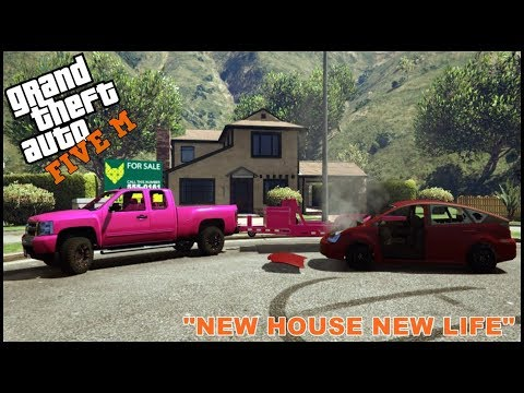 GTA 5 ROLEPLAY - NEW HOUSE NEW LIFE NEW CAR - EP. 179 - CIV