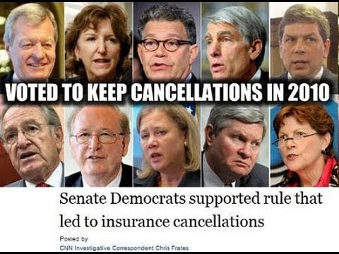 Obamacare: Cancelled Coverage Defended by Dishonest Democrats