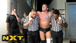 Shane Thorne is helped to the locker room: NXT Exclusive, Jan. 18, 2017