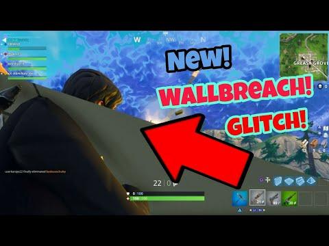 Fortnite Battle Royale Glitch (New) Wallbreach PS4/Xbox one 2018