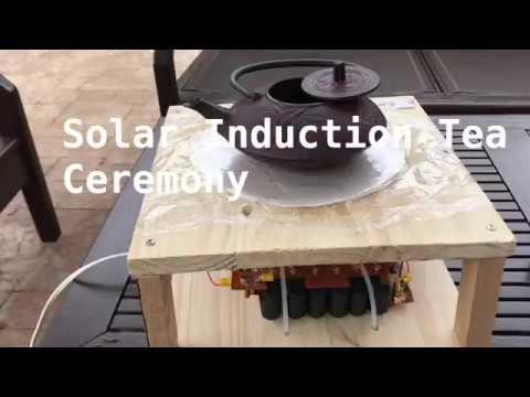 Solar Inductive Heating Cast Iron Teapot