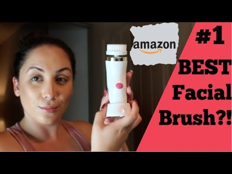TESTING The Glamfields Facial Brush Massager   AMAZON BEST FACIAL CLEANSER?
