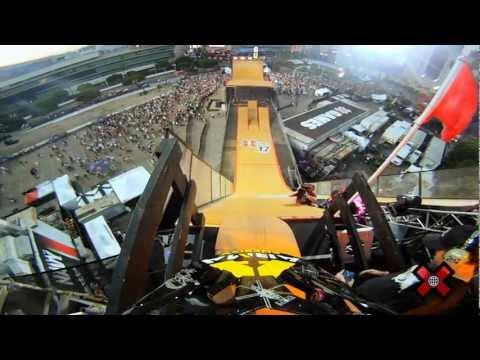 GoPro HD: X Games 17 - BMX Big Air Crash with Chad Kagy