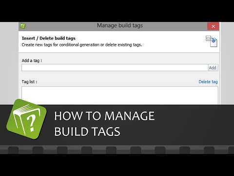 How to manage build tags (Step-by-step guide)