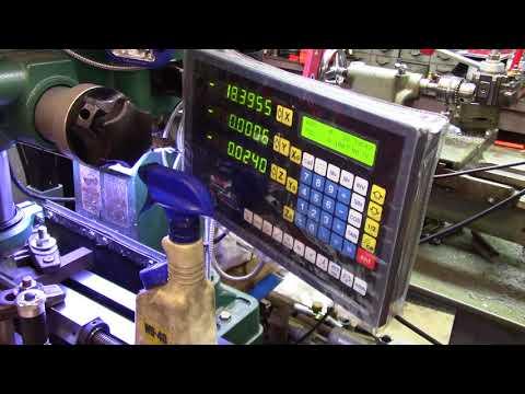 Craftsman Atlas lathe lead screw machining part 2 of 2