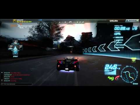 Need For Speed World: Making money in Class Open