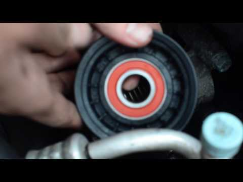 How to Replace Belt Tensioner in 3 Minutes - Mazda 3 2012