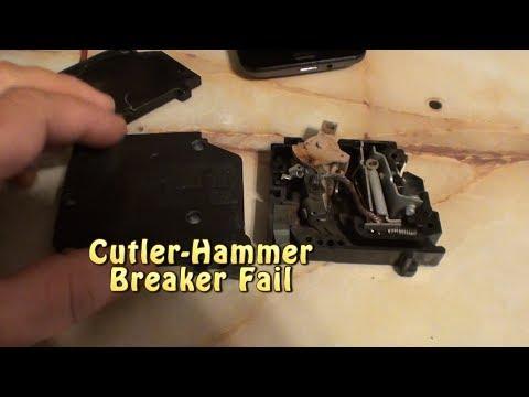 Cutler-Hammer Breaker Fail.
