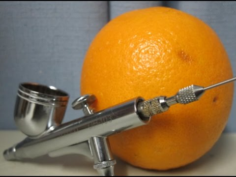 Airbrush - What is and how to prevent orange peel