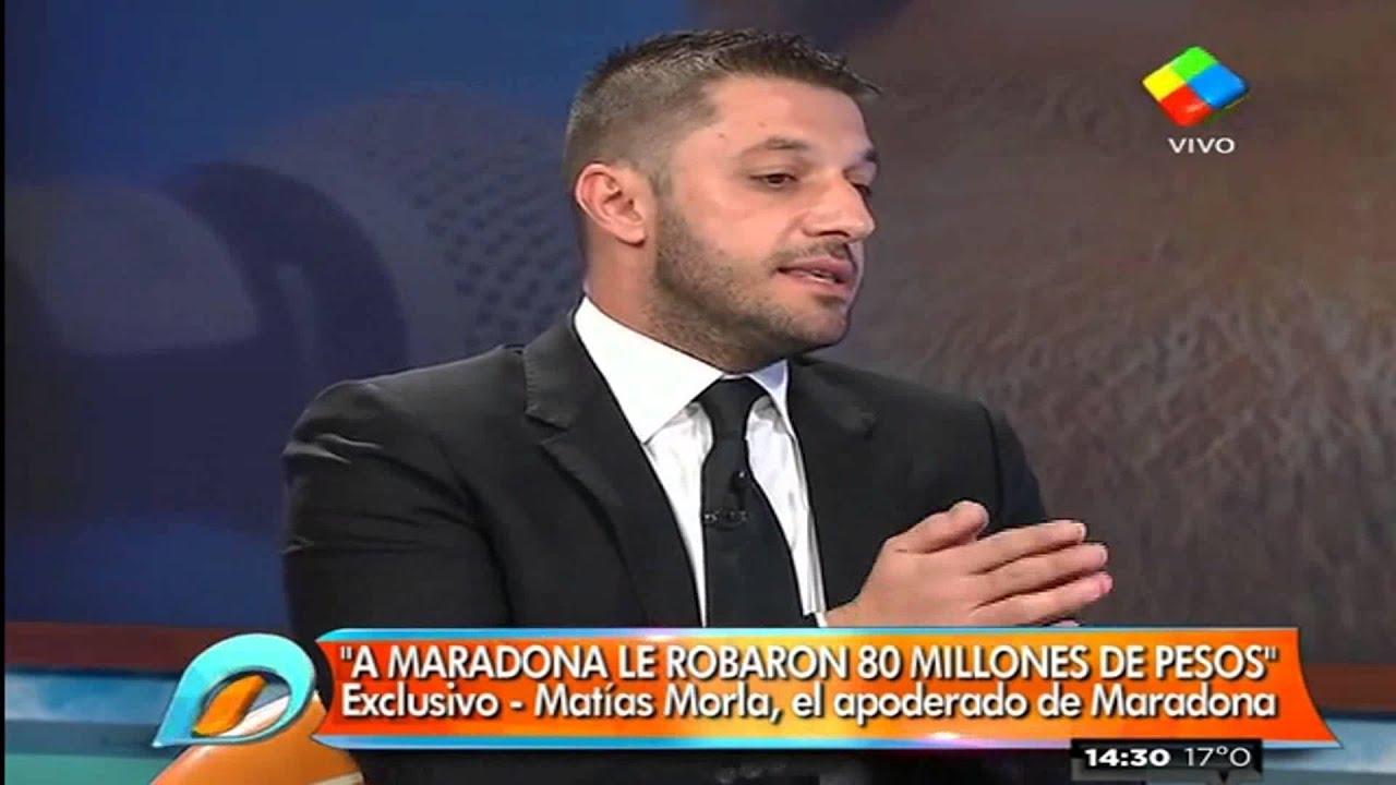 Matias Morla sobre Claudia Villafañe