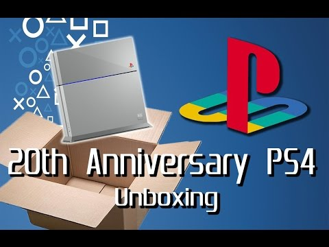 20th Anniversary PS4 unboxing!