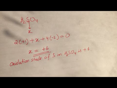 How to calculate Oxidation State ?