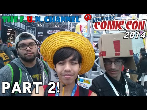 The F.U.N. Channel @ New York Comic Con 2014! | Part 2