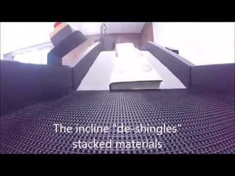 A Book's Eye View of the Automated Materials Handling System in Action
