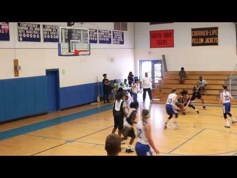 TwinSportsTV: Lady Sparks vs. ML Rockets (8th Grade Basketball)