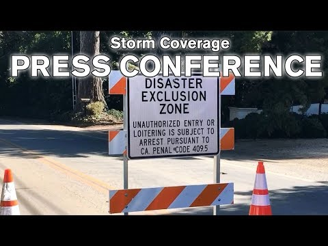 LIVE: Santa Barbara County Sheriff updates community on Mandatory Evacuation Order - 11 a.m.