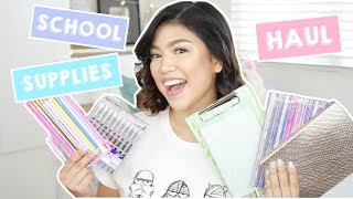 Back-to-school Supplies Haul (philippines) | Janina Vela