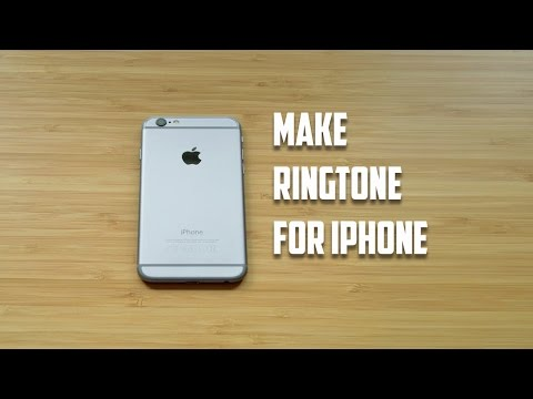 How to make your own ringtone for iPhone 5/5s/6/6s/7/7s without iTunes