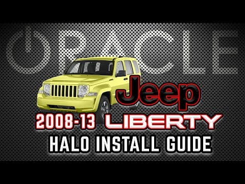 D.I.Y. - Install 2008-2013 JEEP Liberty ORACLE LED HALOS