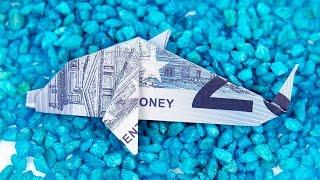 Geldscheine Falten Fisch Tiere Basteln Fur Geldgeschenke Geld