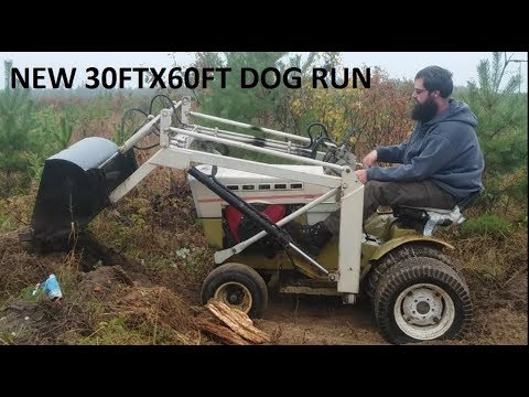 Cheap 30x60 Dog Run Build Part 1