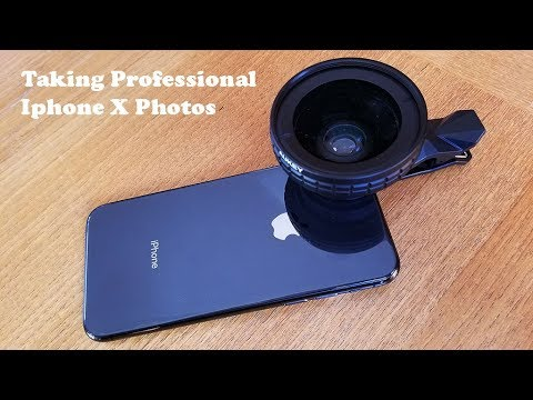 How To Take Professional Photos With Iphone X - Fliptroniks.com