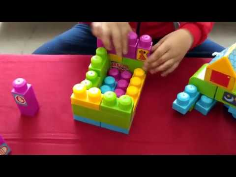 Build Animals, Robot and Car garage using Building Blocks for Kids