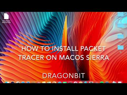 How To Install Packet Tracer On macOS Sierra