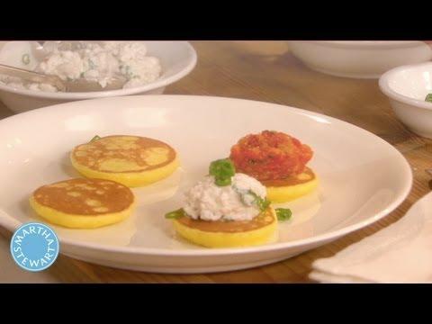 How to Make Potato Blinis - Meatless Monday - Martha Stewart