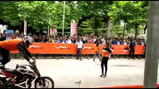 KTM BIKE STUNTS | LOVELY PROFESSIONAL UNIVERSITY | Bike Competition