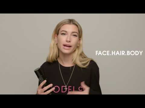 Hailey Baldwin for ModelCo: COCONUT LUXE Beauty Oil