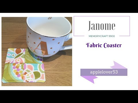 How To Sew A Fabric Coaster
