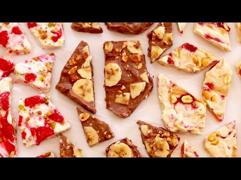 Frozen Yogurt Bark (Easy Snack Recipe) - Gemma's Bigger Bolder Baking
