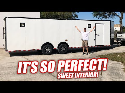 MEET MY NEW TRAILER! I'm in LOVE!