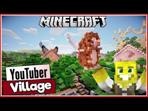 Hedgehog & Fox Houses plus More! | Youtuber Village Ep.3