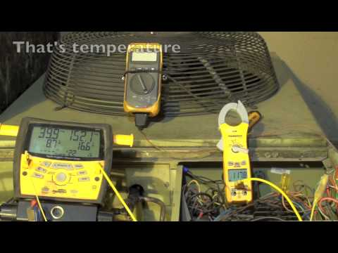 Charging the heat pump by discharge temp, part 2