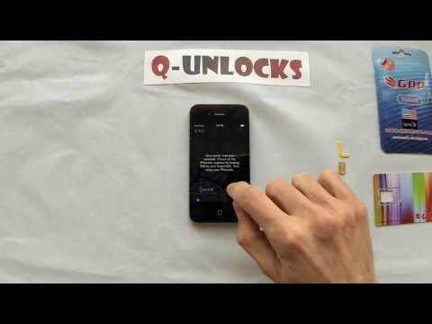 Unlock iPhone 4S/5 with GPP + Jailbreak iOS 8.1.2 - 7.1.2 - 7.0.6 (AT&T, Sprint, Verizon)