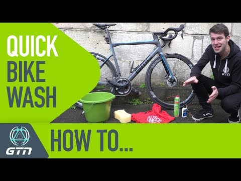 How To Wash Your Bike In 5 Minutes | GTN's Quick Bike Wash