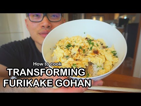 How to cook TRANSFORMING  FURIKAKE GOHAN from FOOD WARS