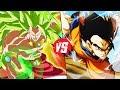 Super Saiyan 3 Broly Vs Ultimate Gohan (Dragon Ball Z)