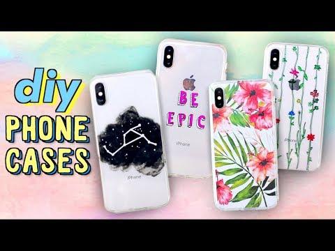 DIY PHONE CASES (Easy + Cute)  | JENerationDIY