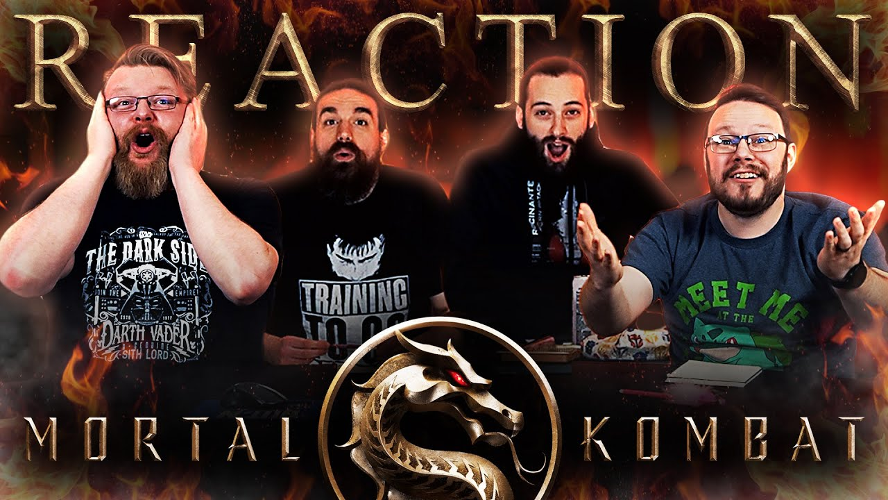 Mortal Kombat – Official Restricted Trailer REACTION!!