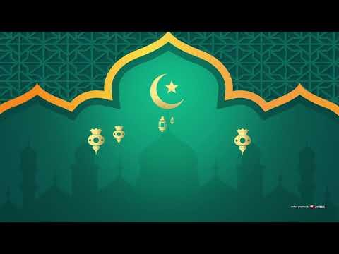 Video Background Islami + Music#31 NO TEXT Eid Mubarak Greeting (background video Idul fitri)