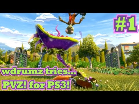Plants VS Zombies: Garden Warfare (PS3) - Part 1 - Rank 1