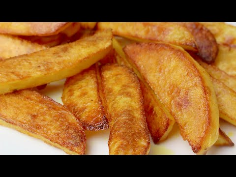 Crispy Oven Baked French Fries Recipe