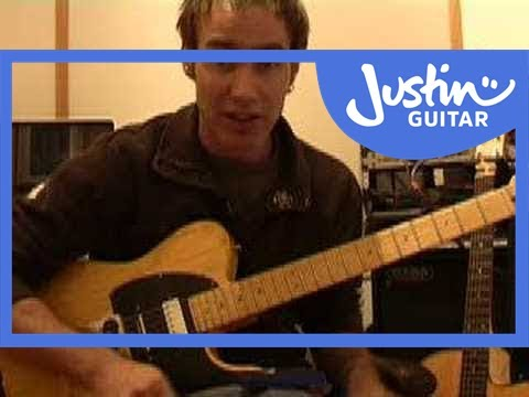 Scale Picking (Guitar Lesson TE-003) How to play