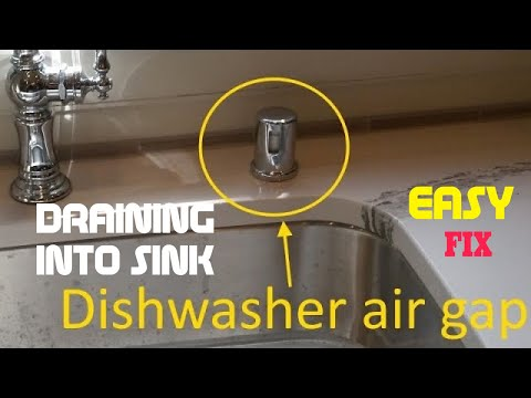 Dishwasher Draining Into Kitchen Sink (FIXED)