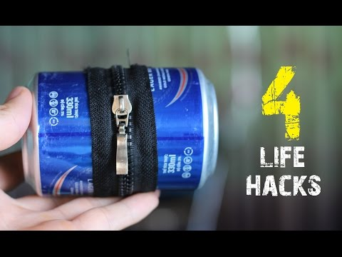 4 Amazing Life Hacks with Aluminium Can