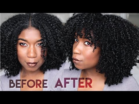 How I Shape My Wash And Go | No Picks, No Heat, No Teasing - BIG CURLY HAIR