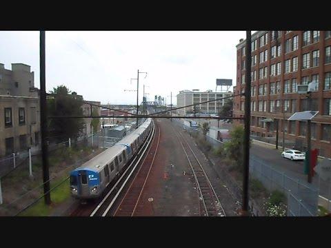 Path Subway Train New Jersey & New York
